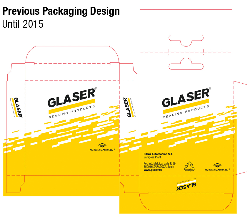 Previous Packaging Design